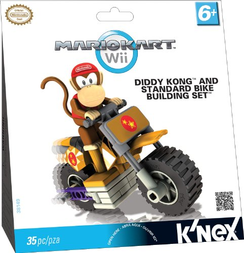 Nintendo Diddy Kong and Standard Bike Building Set