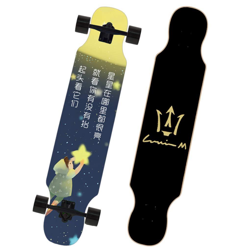 輝い DUWEN B07NRK42YX スケートボードメープルダンスボードティーンブラシストリートトラベル男の子と女の子スクーター初心者入門プロのスケートボード (色 : C) C) B07NRK42YX A A A, TOP JIMMY(トップジミー):4d0cadbe --- a0267596.xsph.ru