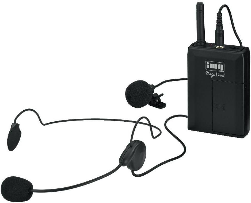 Monacor TXS-813SX - Emisor de petaca para micrófono: Amazon.es ...