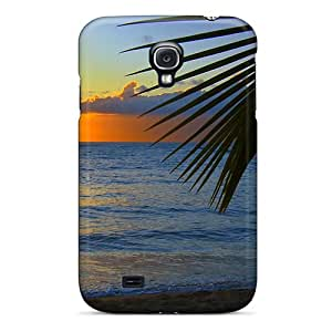 AmazingAge Pmfmb9436prghU Case Cover Skin For Galaxy S4 (beach N Plamtree)