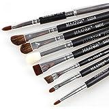 Professional 8Pcs Eye Brushes Set Eyeliner Shadow Blend - Best Reviews Guide