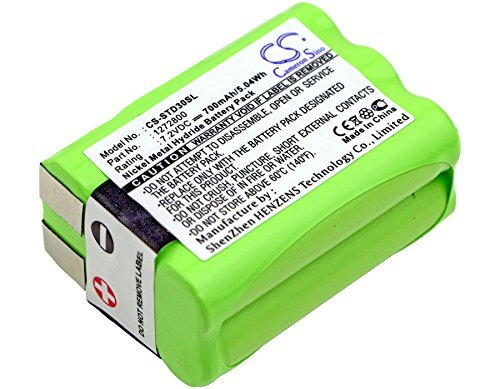 Replacement Battery for TRI-TRONICS Classic 70 G3 Field 90 G3 Flyway G3 Field G3 Pro 100 G3 Pro 200 G3 Pro 500 G3 Pro Handheld transmitters Pro TX Trashbreaker G3 Upland SP G3 1272800 1281100 Rev.B ()