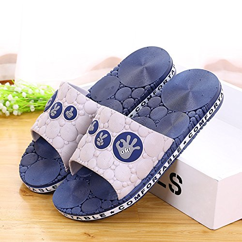slippers blue 41 Home deep indoor slippers bathroom pnR0UqZ