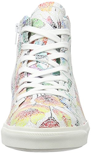 Flower 189 TOZZI MARCO White Hi premio Top White 25204 Sneakers Women's znqgRFw