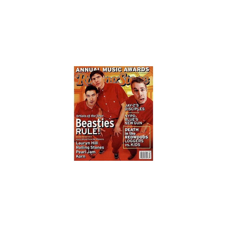 Rolling Stone Magazine, Issue 804, January 1999, Beastie Boys Cover