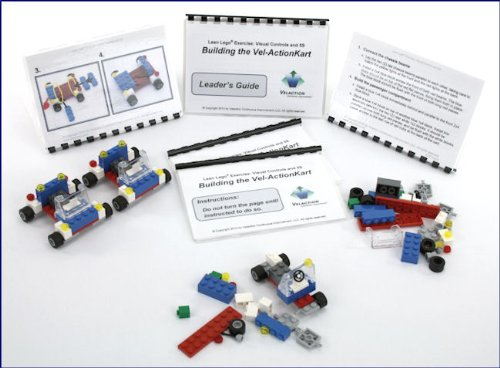 Visual Controls and 5S Lean Lego Training Exercise by Velaction