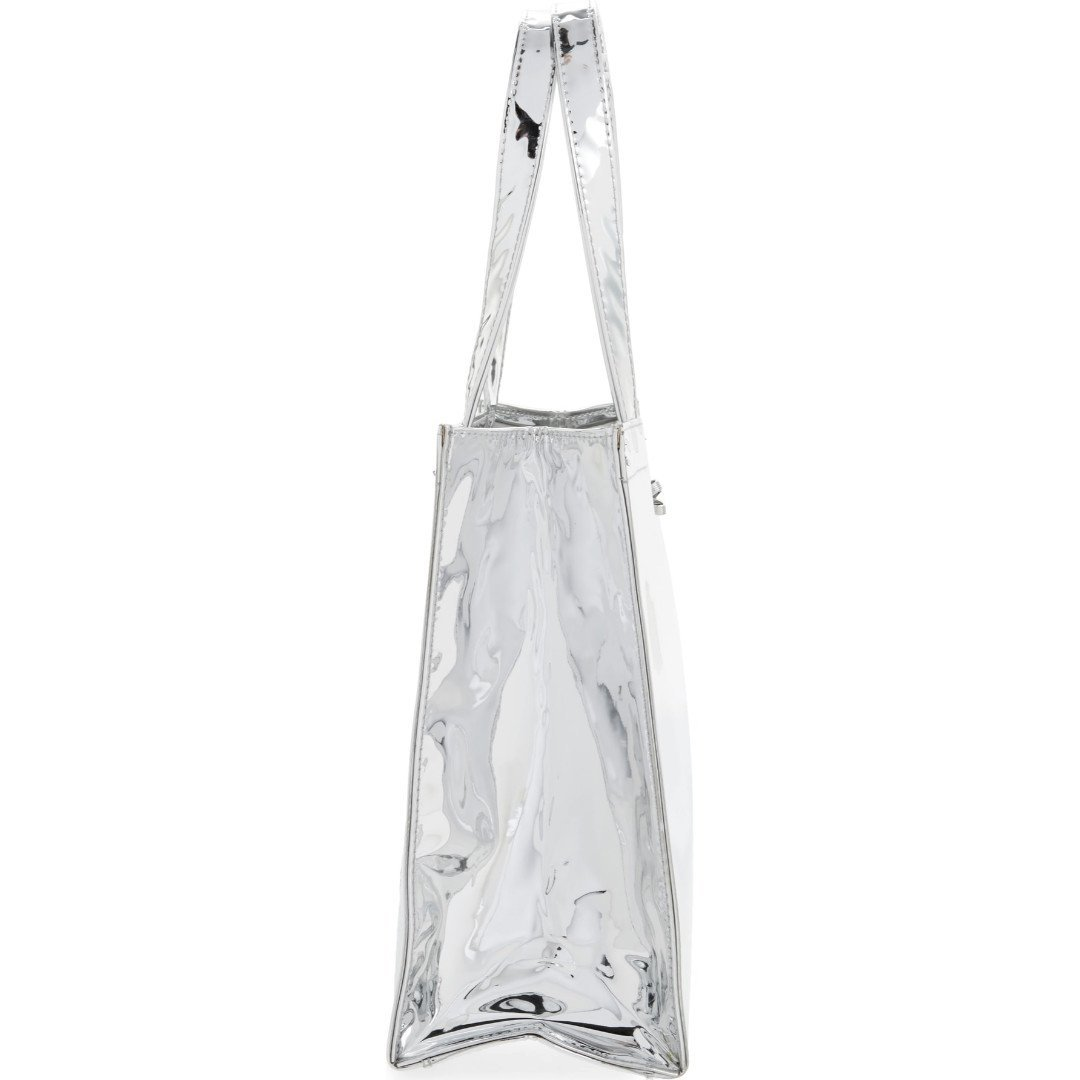 fe754caeb Ted Baker Small Doracon Mirrored Tote Bag in Silver with Bow  Amazon.co.uk   Shoes   Bags
