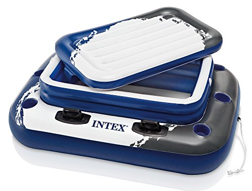 Floating Bar Pool (Intex Mega Chill II, Inflatable Floating Cooler, 48