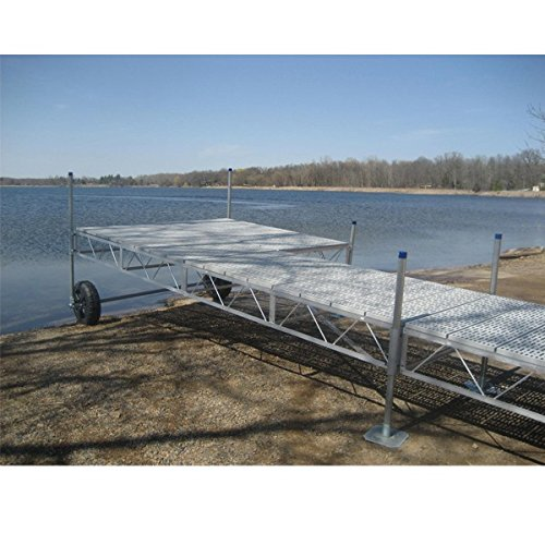 AMRP10566 * (24Ft) Roll-In Patio Dock With Poly Deck (Rollin Patio Dock)