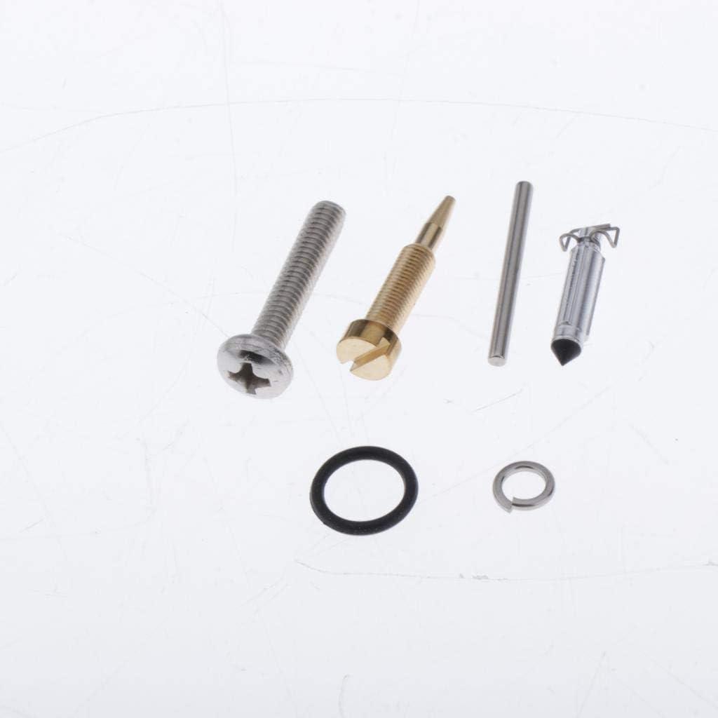 Solid /& Durable Carb Carburetor Repair Kit for Yamaha 4HP 5HP 4M 5M Outboard Motors