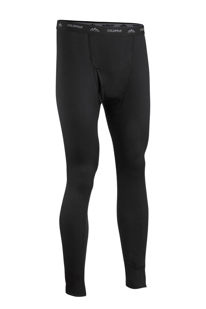 Coldpruf Men's Journey Performance Base Layer Pant, Black, Large 86BLGBK