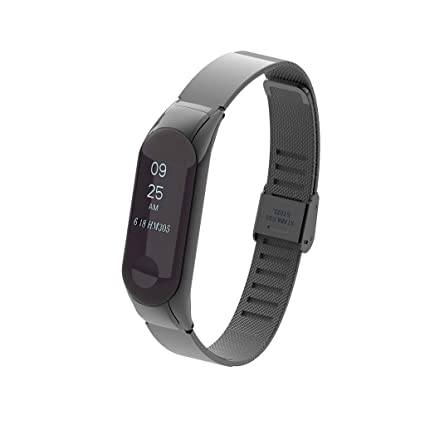Amazon.com: Jiechu Replacement Strap for Xiaomi Mi Band 3 ...