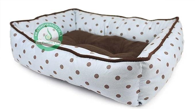 La moda ciudad® Nueva Funda para camas para perros Pet bedpolka Dots lavable Gran Calidad
