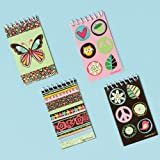 Hippie Chick Notepads Assorted