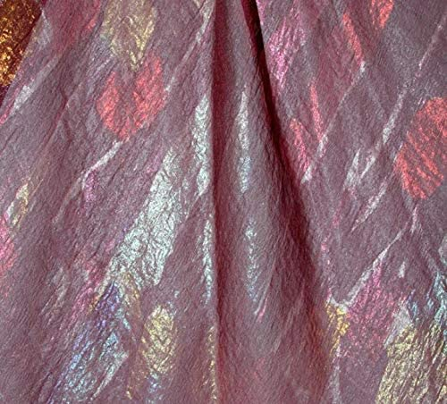 Tela de encaje africano | tela de gasa bronce brillante para disfraz ...