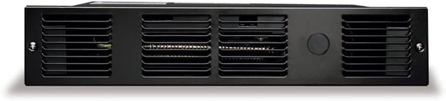 Cadet UC101B Perfectoe 1000-Watt 120V toekick heater, black
