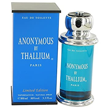 Anonymous by Thallium Eau de Toilette Spray 100ml/3.3oz for Men(Limited Edition