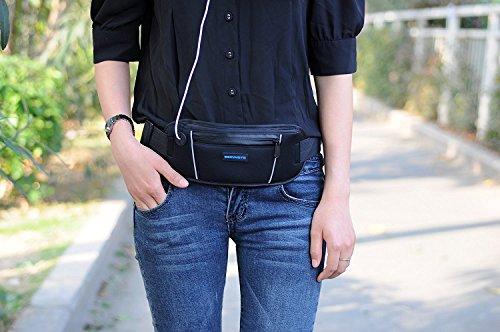 Producto nuevo running cinturón cartera, Running cintura Pack bolsa para hombres y mujeres: Amazon.es: Hogar