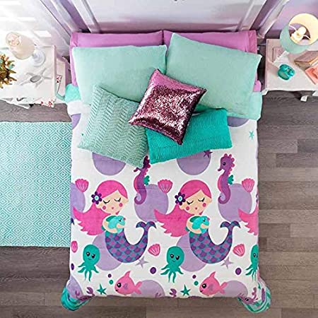 51L8e4Hr8nL._SS450_ Mermaid Bedding Sets and Mermaid Comforter Sets