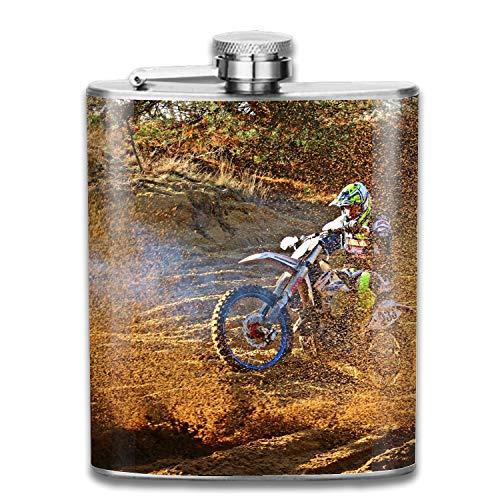 Cool Enduro Stainless Steel Hip Flask, Pocket Flagon, Camping Wine Pot, Portable Liquor Flagon Retro Pocket Flask For Men And Women Gift ()