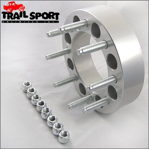 trailsport4x4 2 inch Adapter Kit for Ford - 8x170 Hub to 8x6.5 Wheel