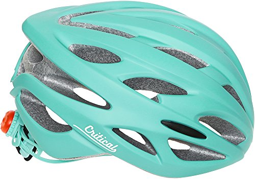 Critical Cycles Adult Silas Bike Helmet With 24 Vents, Matte Celeste, One Size