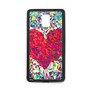 Abstract Tribal Pattern Samsung Galaxy Note 4 Cell Phone Case Black Qajdx