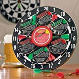 Dart Board and Gourmet Cheese Gift Set | Great Gift for Holidays, Birthdays, or Father's Day!