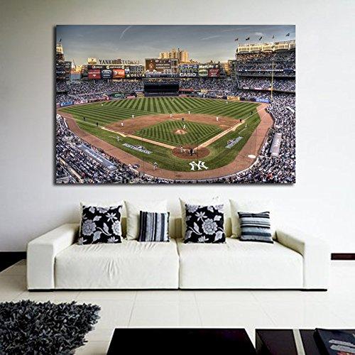 Baseball Stadium Mural - Poster NY Yankee Stadium Baseball 40x60 inch (100x150 cm) Adhesive Vinyl #09