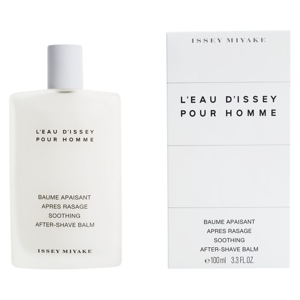 Issey Miyake L'Eau d'Issey Pour Homme Soothing After-Shave Balm 100ml - Pack of 2