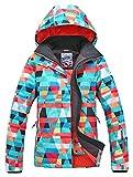 APTRO Women's Ski Jacket Waterproof Snow Jacket Windproof Snowboard Jacket Style #15 M