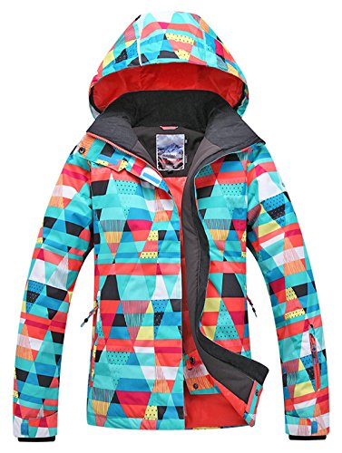 APTRO Women's Ski Jacket Waterproof Snow Jacket Windproof Snowboard Jacket Style #15 M by APTRO