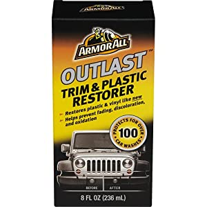 Armor All 17451 Outlast Trim and Plastic Restorer - 8 fl. oz.