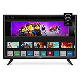 Vizio D32F-G D-Series 32″ Class 1080p LED LCD Smart Full-Array LED LCD TV (2019 Model) (Renewed)
