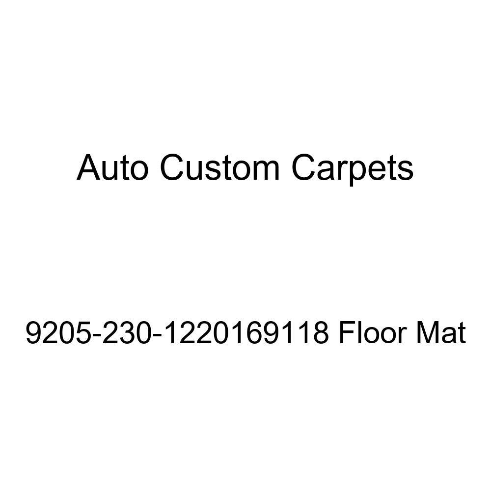 Auto Custom Carpets 9205-230-1220169118 Floor Mat Interior Accessories Floor Mats & Cargo Liners
