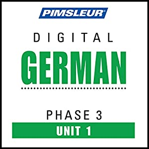 German Phase 3, Unit 01 Audiobook