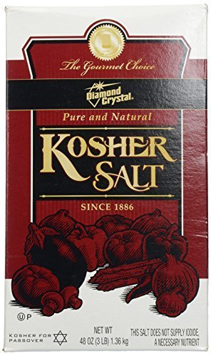 Diamond Crystal Kosher Salt, 3 lbs (Pack of 36) by Diamond Crystal