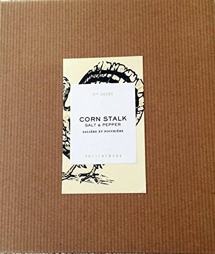 Purchase Pottery Barn Corn Stalk Salt & Pepper Set lowestprice