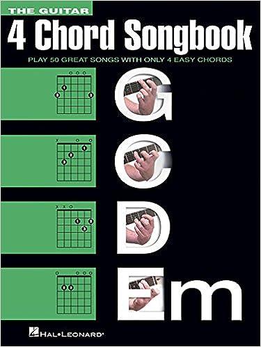 Amazon.com: The Guitar Four-Chord Songbook G-C-D-Em: Melody/Lyrics ...