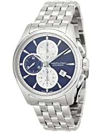 Jazzmaster Blue Dial SS Chronograph Automatic Men's Watch H32596141