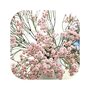 Blue Skieses Artificial Baby's Breath Flower Fake Silicone Plant for Wedding Home Hotel Party Decorations 47