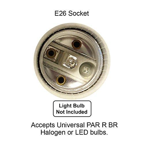 Direct-Lighting 50007 White Universal Line Voltage Track Lighting Head by Direct-Lighting (Image #2)