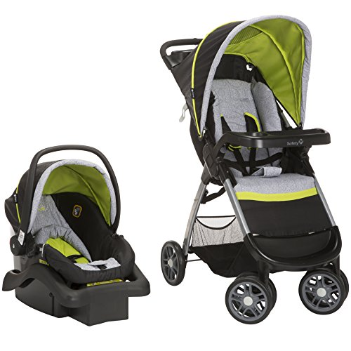 Safety 1st Amble Quad Travel System with Onboard 22 Infant Car Seat, Polynesian by Safety 1st