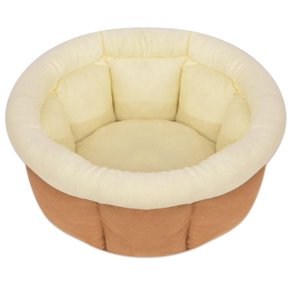 WEILANDEAL Colchon para Perro Tamano XL Beige Cubre colchon impermeableLavable a Mano: Amazon.es: Hogar