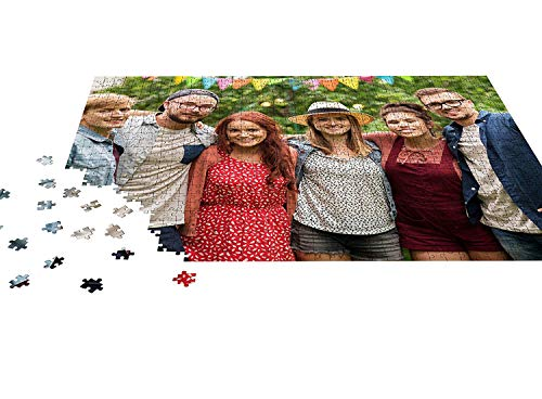 Custom Photo Puzzle 150 Piece for Adults, Large Piece Personalized Custom  Wooden Jigsaw Puzzle 4x6 inches