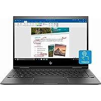"Hp Envy x360 2-in-1 13.3"" FHD Touch-Screen 2018 Latest Laptop Computer, AMD Ryzen 5 Up to 3.6GHz, 8GB Ram, Vega 8, Bluetooth, Wi-Fi, Webcam, Dark Silver (AMD Ryzen5-2500U, 13.3 Inch)"