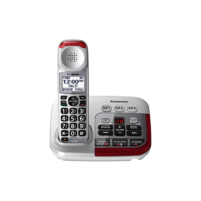 PANASONIC Amplified Cordless Phone with