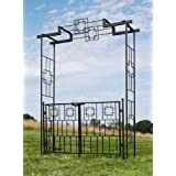 Achla Designs Square-On-Squares Gate