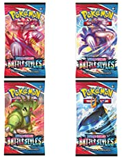 Pokemon TCG: Sword & Shield Battle Styles Booster Pack (4 Different packs )