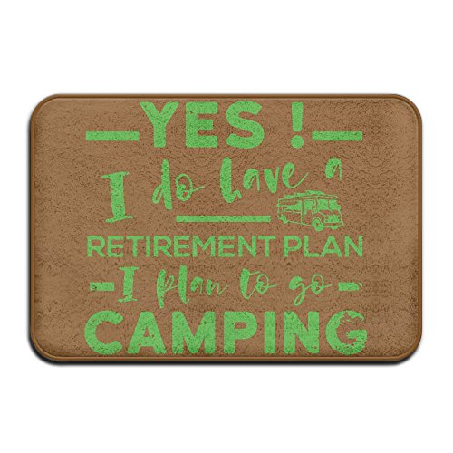 Cheap  Inside & Outside Doormat I Do Have A Retirement Plan I Plan..